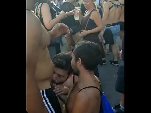 Gay outdoor parade